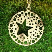 Jessica Hicks Star Cut-out Necklace