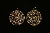 Claudia Lobao Life's Circle Medium Earrings Gold