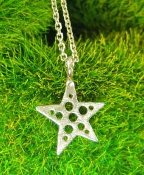 Jessica Hicks Tiny Star Necklace in Silver