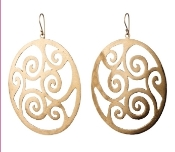 Jessica Hicks XL Wave Earrings in Sterling Silver