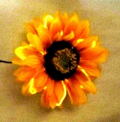 EL Wire Sunflower Body decoration and fashion accent