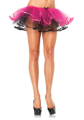 Leg Avenue Reversible Ribbon Trimmed Tutu