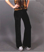 Gypsy Junkies Nighthawk Velvet Bell Bottoms