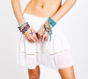 Gypsy Junkies Malibu Mini Skirt