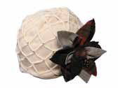 Grace Hats Coco Watch in Cream