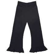 ecogirl Topanga pant, long pants with ruffled ankle