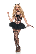 Mystery House Leopard Deluxe Costume