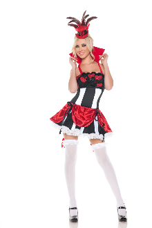 Mystery House Queen of Hearts Costume