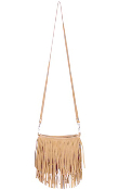 JJ Winters #351 Mini Suede Fringe Bag