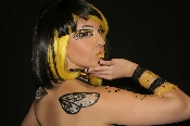 Bumble Bee Wings self adhesive body art from Xotic Eyes
