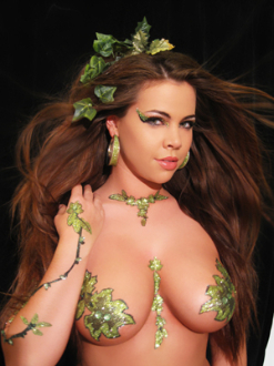 Xotic Tatas Ivy Self Adhesive Body Art