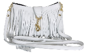 JJ Winters #361 Fringe Bag with Clasp