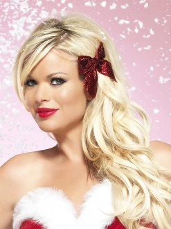 Leg Avenue Glitter Hair Bow