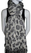 Tolani Lurex Animal Scarf