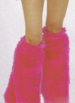 Je T'Aime Fur Boot Covers