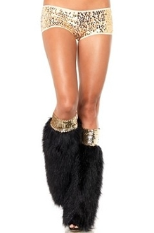 Leg Avenue Boot Covers with wide sequin top