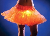 Orange light up petticoat