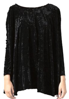 Gypsy Junkies Bang Bang Bell Tunic in Velvet Lace
