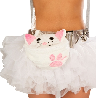 J Valentine Ani-Pack Plush Animal Fanny Pack
