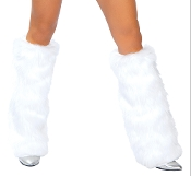 J Valentine Fur Boot Covers