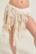 Western Fashion Lace Fringe Belt