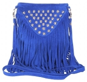 JJ Winters Fringe Bag with studs #391
