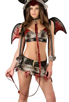 J Valentine Hot Stuff Dragon Costume