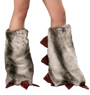 J Valentine Hot Stuff Dragon Leg Warmers